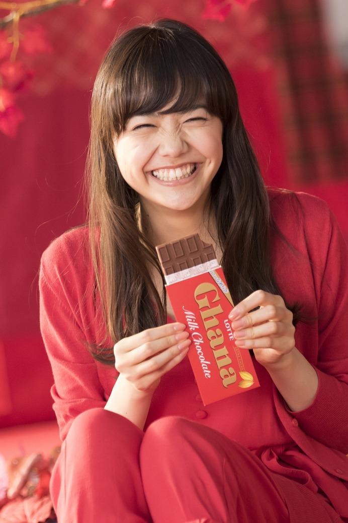 松井愛莉笑顔