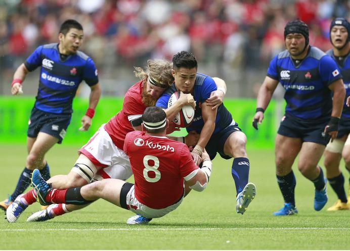 ラグビー日本代表、カナダに勝利…最後は全員で守り切る 2枚目の写真・画像