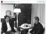 本田圭佑、安倍晋三首相と対談「We talked about the education of Japan and the world」 画像