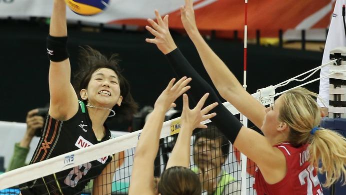 【バレーボールW杯2015】日本、アメリカに完敗…今大会での五輪出場権獲得ならず