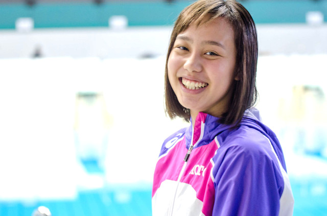 競泳 今井月 100分の1の世界が魅力 日本水泳界の未来を担う女子