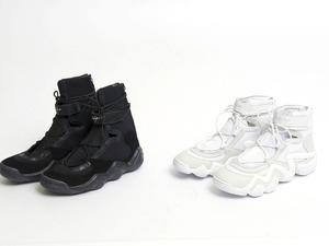 ヨウジヤマモト×アディダス、バスケットシューズをベースにしたスニーカーを5月1日に発売! 画像