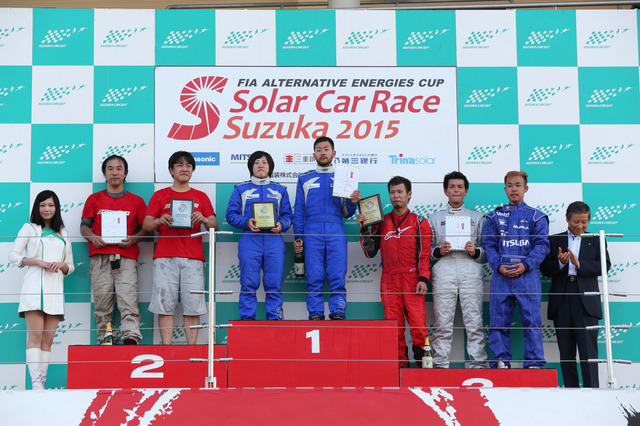 FIA ALTERNATIVE ENERGIES CUP ソーラーカーレース鈴鹿2015