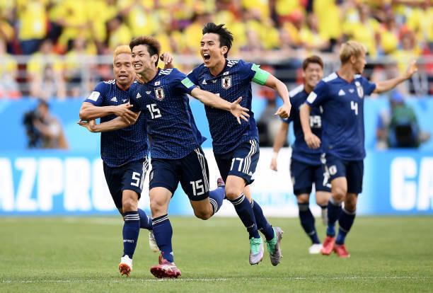 速報‼ 日本代表がコロンビアに勝利! ワールドカップで南米勢に初の勝利をもぎ取る!