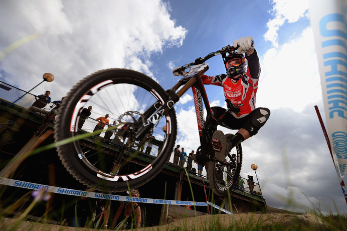 UCI Mountain Bike World Cup 2013 Kyle Sangers