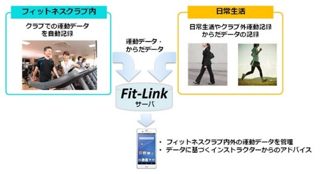 「Fit-Link」利用イメージ