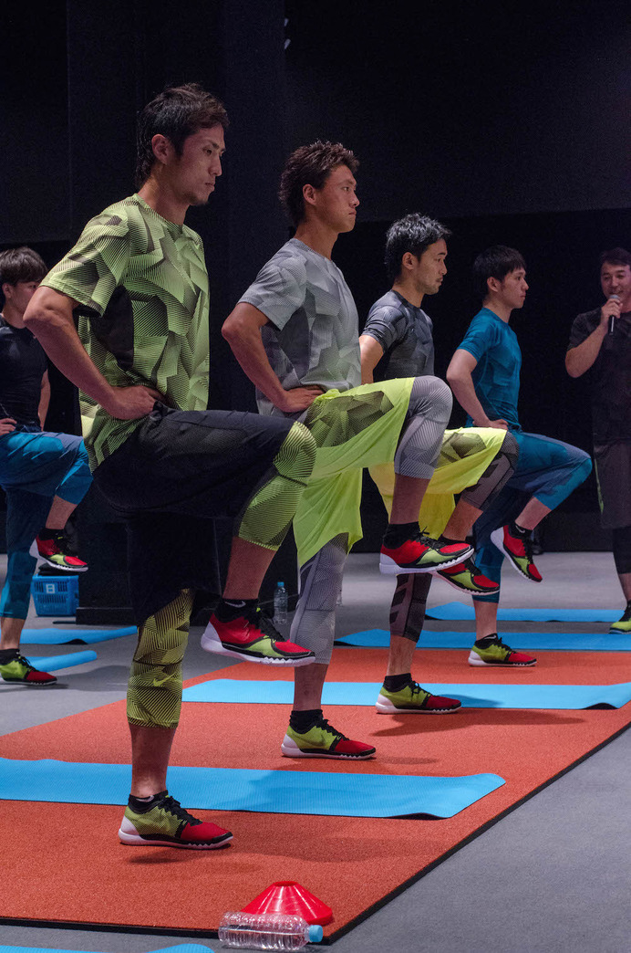 NIKE TRAINING SESSIONが開催(2015年7月7日)