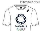 東京五輪エンブレムのTシャツ発売…初の公式ライセンス商品 画像
