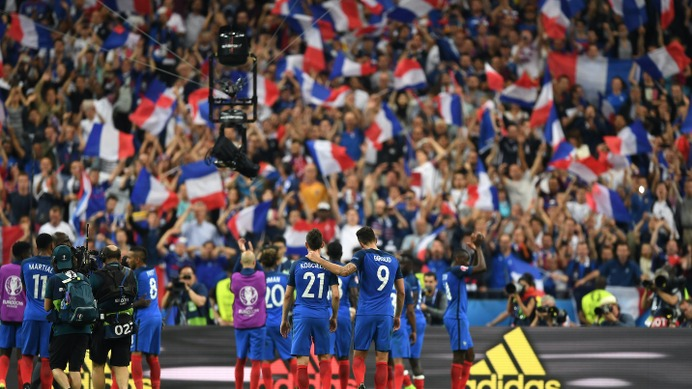 EURO2016開幕、開催国フランスが白星発進(c)Getty Images