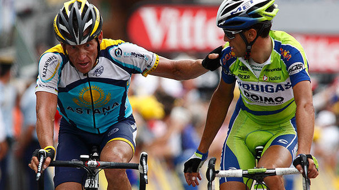 アームストロングが総合4位に後退   CYCLE やわらかスポーツ情報サイト
