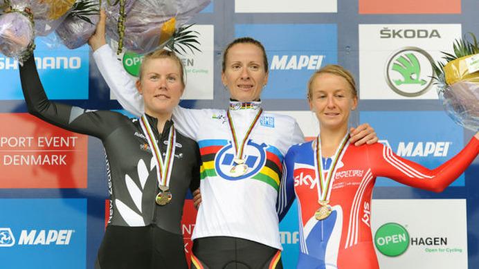 世界選手権エリート女子TTはアル...