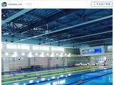 競泳・入江陵介、オープン間もない最新プールを絶賛「最高の施設です!」 画像