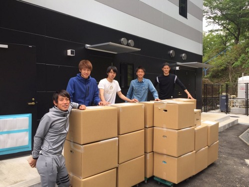 川崎フロンターレ選手会、街頭募金を実施「いただいた思いは必ず熊本に」 画像