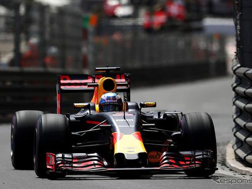 F1モナコGP、波乱の幕開け…初日フリー走行はリチャルドがトップ 画像