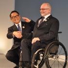トヨタ豊田社長「バッターボックスに立つ。できないことはない」パラリンピック最高位パートナー会見 画像