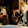 【ツール・ド・フランスさいたまクリテリウム14】海外選手が日本文化に触れる交流会 書道と茶道を体験の画像