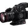 キヤノン、小型・軽量なHDビデオカメラ EOS C100 Mark II 画像