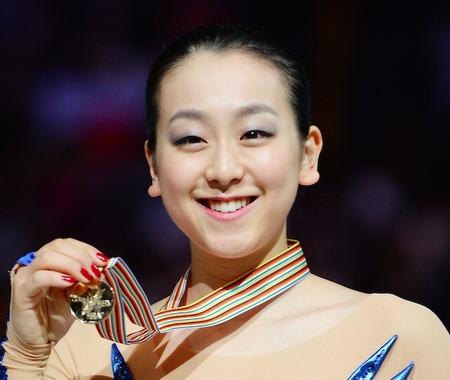浅田真央、小中学生に人気のスポーツ選手調査で1位…2位に錦織圭、3位に羽生結弦