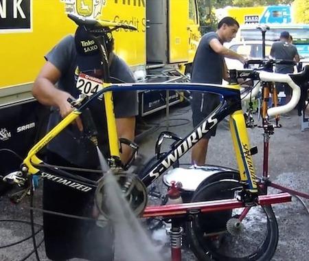 【ブエルタ・ア・エスパーニャ14】レースを裏で支える職人、メカニックの仕事をティンコフが動画で公開