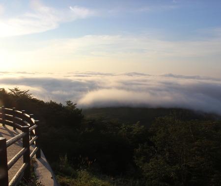 【小さな山旅】恋人岬から男ふたりで雲海を眺める…那須岳(1)