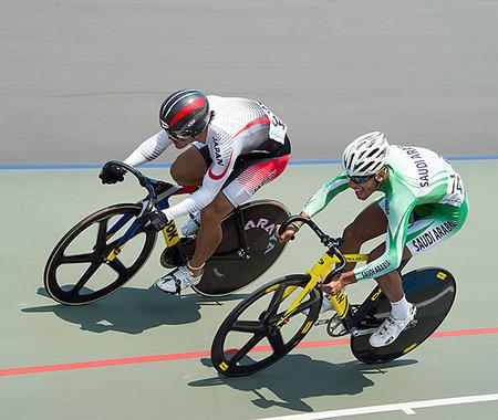 中川 誠一郎がアジア競技大会男子スプリントで1/4決勝に進出