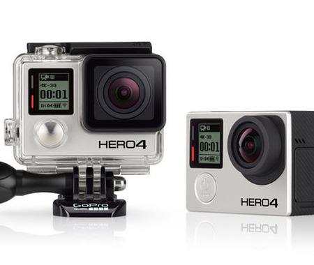 GoPro HERO4 発表! 4Kで30fps、プロからエントリーまで