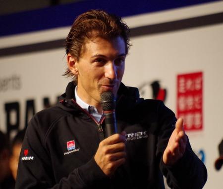 【ジャパンカップ14】レース欠場のカンチェラーラが来日 アフターパーティーにも登場