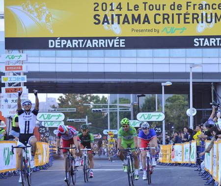 【ツール・ド・フランスさいたまクリテリウム14】キッテルがスプリント勝利で大観衆の声援に応える