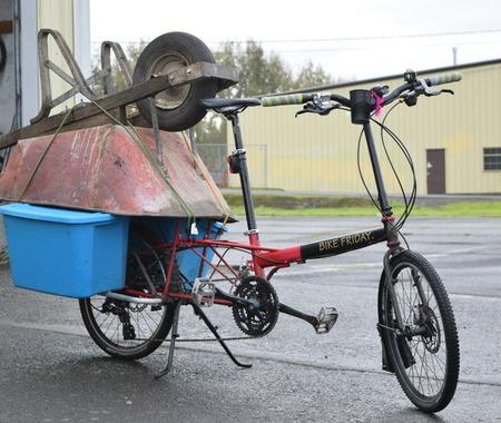 100kgを軽々積める、軽くて強いカーゴバイク「ホーラーデイ」登場 アメリカ