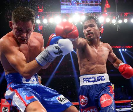 【ボクシング】マニー・パッキャオが大差の判定で王座防衛…ファン熱望のメイウェザー戦は実現するか