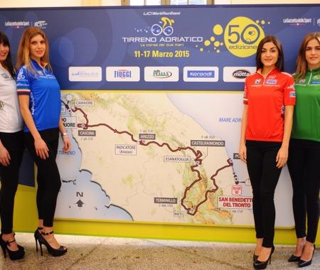 2015年ティレーノ~アドリアティコのコース発表、3月11~17日開催