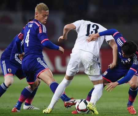 【サッカー日本代表】日本がウズベキスタンに5発快勝、ハリルホジッチ監督が目指す縦に早いサッカー