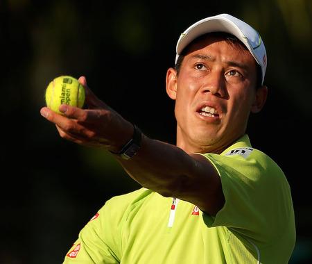 【テニス】錦織、ゴフィンを68分で退けベスト8進出…マイアミ・オープン