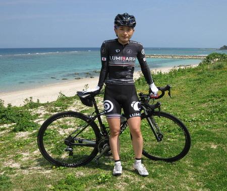 プロロードレーサー西加南子と走るサイクリングや女性限定トークショー開催へ