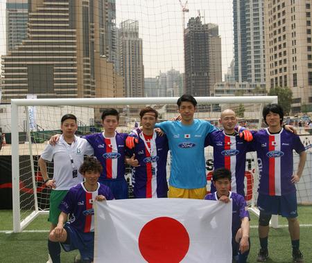 世界44カ国が参加する5人制アマチュアサッカー大会がドバイで開幕…日本は第二試合で勝利