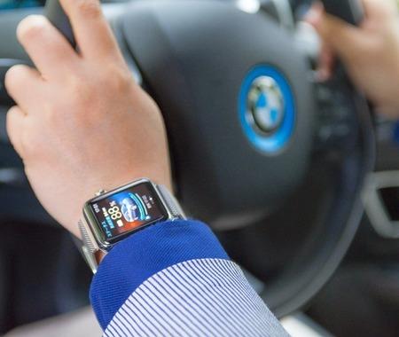 Apple WatchとBMW i3、iPhone6の三位一体連携がとても未来!
