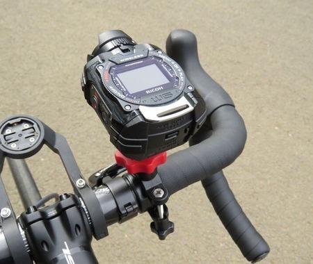【津々見友彦の6輪生活】リコーのアクションカメラ・WG-M1を使ってみる「タイムラプス動画で長時間ライドも楽しめる」