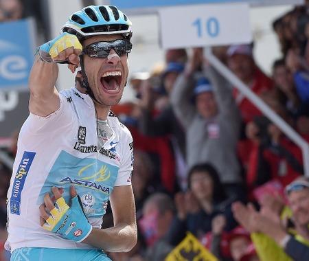 【ジロ・デ・イタリア15】第19ステージ、アールが頂上ゴール制覇…総合2位に返り咲く