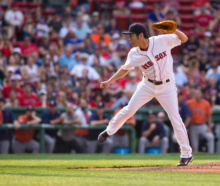 【MLB】レッドソックス上原、メジャー通算80セーブに「勝ってよかったぁ」