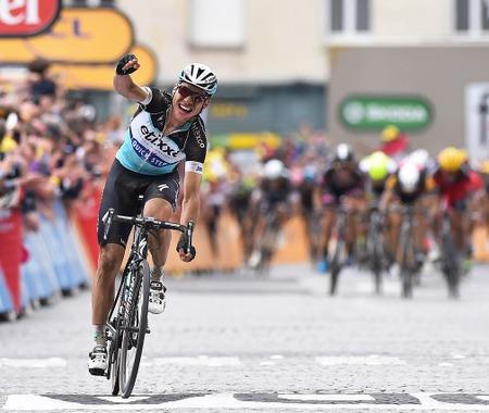 【ツール・ド・フランス15】第4ステージ、マルティンが独走勝利…マイヨジョーヌ獲得