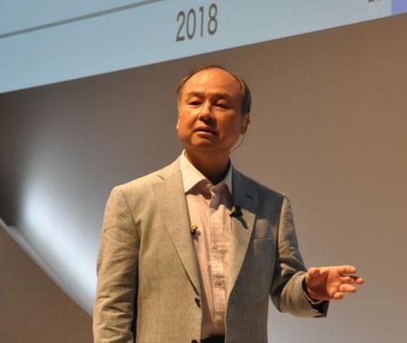 孫正義社長「3つの成長戦略…IoT、AI、スマートロボット」ソフトバンクワールド2015 その2