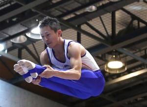 【やってみた】トランポリンで宙を舞う…日本代表・外村哲也選手と一緒にジャンプ! 画像