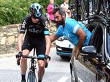 【ブエルタ・ア・エスパーニャ15】フルーム、第12ステージを出走せず…前日に右足骨折 画像