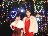 中山競馬場がクリスマスイルミネーション点灯式…本田望結とマギーが登場 画像