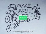 北米大陸を自転車で行く、芸術で人を癒す旅 画像