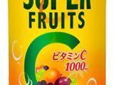 スーパーフルーツ×ビタミンC1000mg、6種の健康果実…大人の炭酸 画像