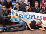 【ジャパンカップ14】優勝者ハースによるレース解説 憧れの選手と交流できたガーミンパーティー 画像