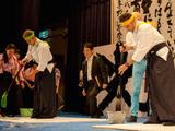 【ツール・ド・フランスさいたまクリテリウム14】海外選手が日本文化に触れる交流会 書道と茶道を体験 画像