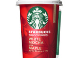 スタバ店舗と同じ豆を使用、「スターバックス ディスカバリーズ ホワイト モカ WITH メープル」 画像