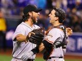 【MLB】ジャイアンツが2年ぶり8回目のワールドシリーズ制覇「最終戦まで 楽しませてくれた!」 画像